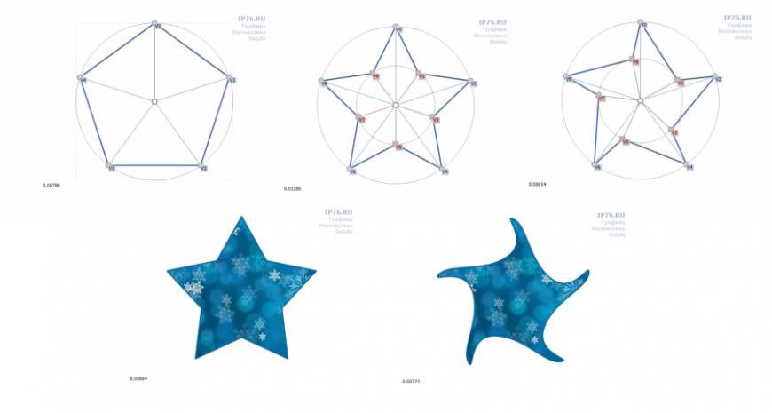 Многоугольники и звезды